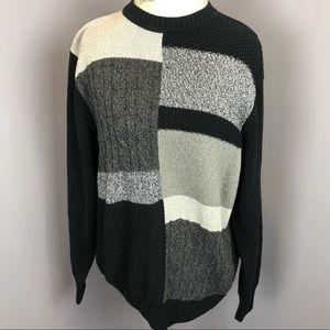 Geoffrey Beene | L | Color Block Sweater